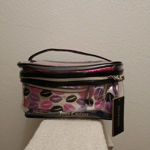 4 BAGS - NWT Juicy Couture Various Makeup Bags